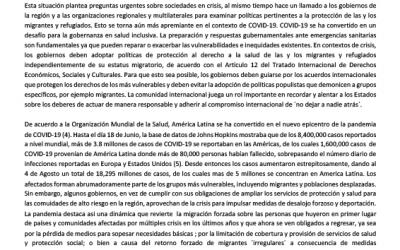 Situational brief on Latin America – ES
