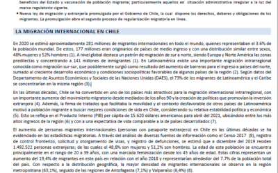 Situational brief on Chile – 02 – ES